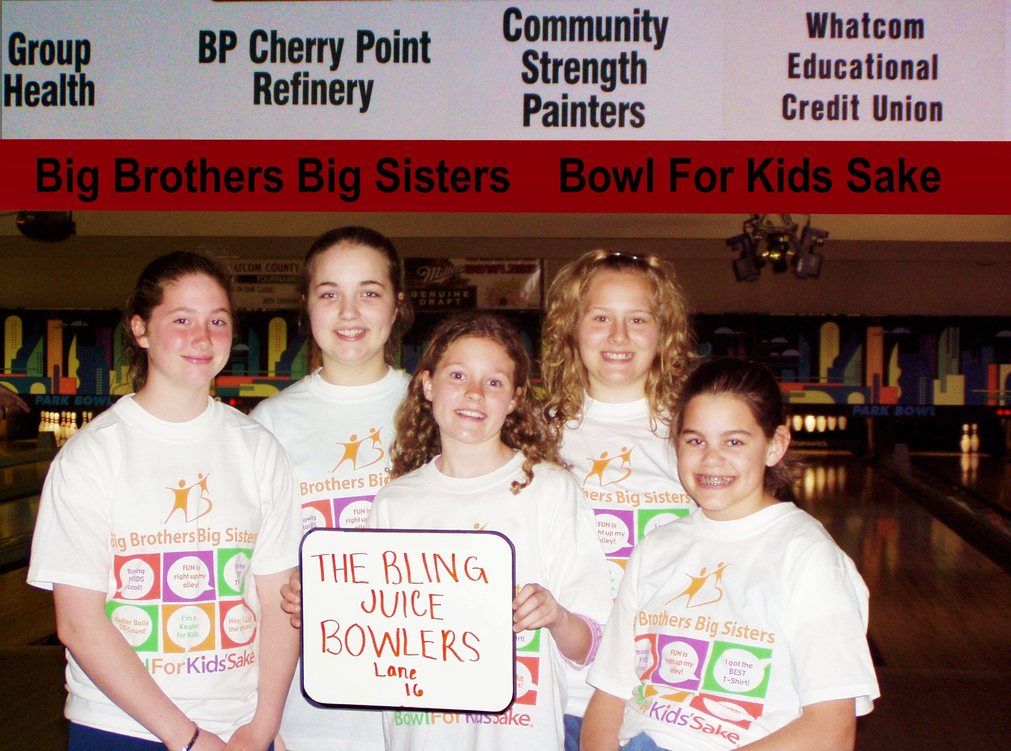 Community Strength Painters Bellingham Bowling picture